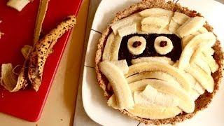 Zombie Mummy Halloween Tart Recipe | Sweet Tarts