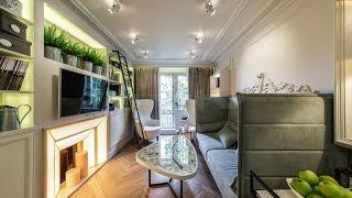 Квартирный вопрос: проект «Французская гостиная с русским пейзажем» при участии Cosmorelax