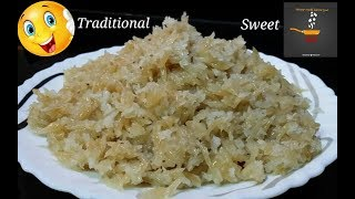 How To Make Superb Yummy Sweet Recipe At Home l Traditional Sweet Recipe l Delicious Home Recipe