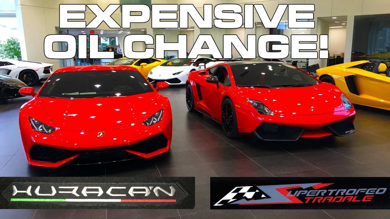 lamborghini super trofeo stradale traded for a huracan when in for service youtube
