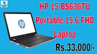 HP 15-BS636TU Portable 15.6 FHD Laptop Unboxing. 2018