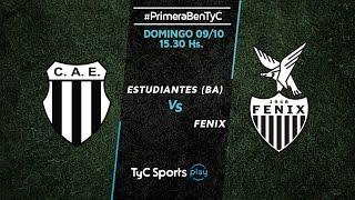 Club Atlético Est. vs CA Fenix full match