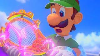 PERO BUENO MARIO LA PELOTA LA RAQUETA | Mario Tennis Aces #1