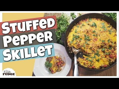 STUFFED PEPPER SKILLET || Cook With Me TUTORIAL