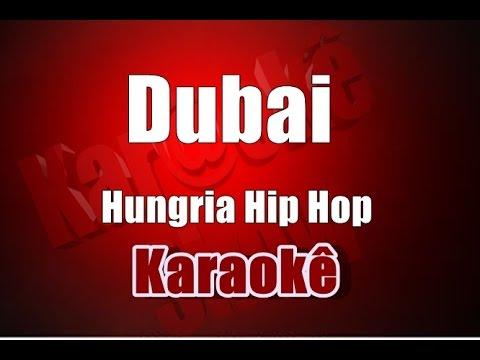 Dubai - Hungria Hip Hop - Karaokê (Violão Cover)