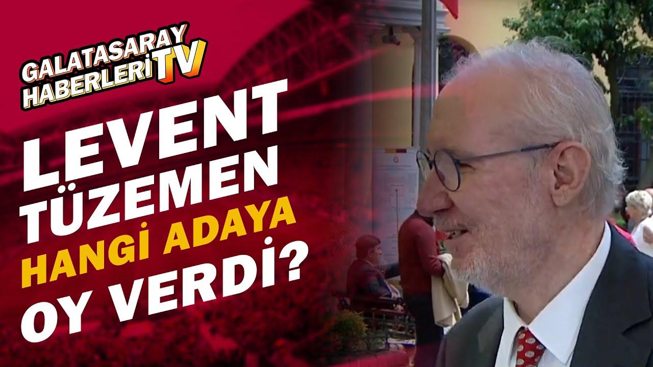 Galatasaray'da Oy Verme İşlemi Tamamlandı! Levent Tüzemen Hangi Adaya Oy Verdiğini Açıkladı