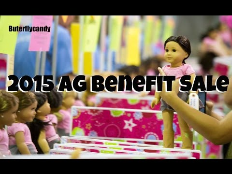 2015 Benefit Sale | Madison Children's Museum American Girl Benefit Sale | Sunday Shopping
