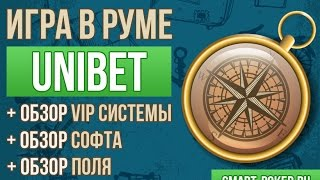 Unibet poker (Юнибет покер): Обзор и тест интересного покер-рума