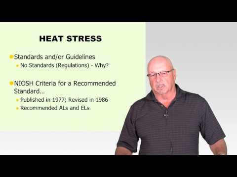 Bob Hutzel: Measurement and Control of Physical Hazards: Thermal stress