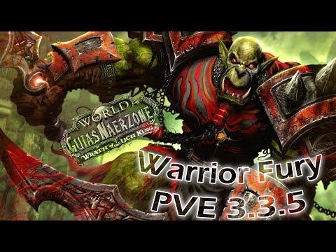[WOW] Guia Guerrero Furia DPS PVE 3.3.5