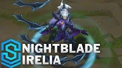 Nightblade Irelia (2018 Rework) Skin Spotlight - Pre-Release - League of Legends
