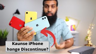 Which iPhones will be discontinued at iPhone 12 launch