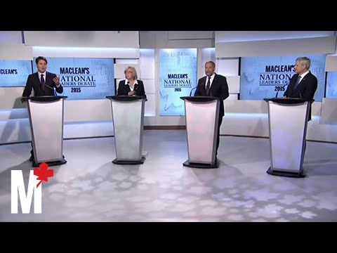 Trudeau vs. Harper on Senate appointments: Maclean's debate