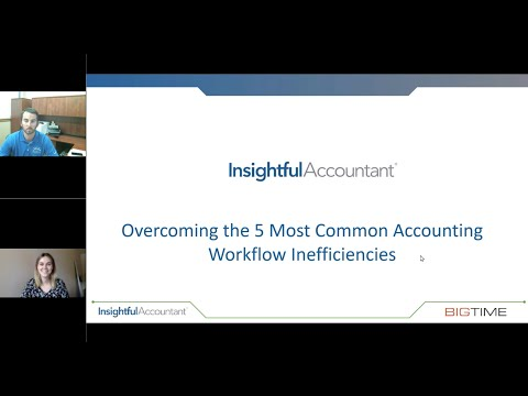Overcoming the Five Most Common Accounting Workflow Inefficiencies