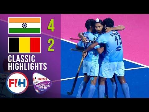 India Vs Belgium | Men's Hockey Champions Trophy 2014 | Classic Highlights