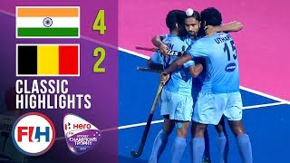 India vs Belgium | Men's Hockey Champions Trophy 2014 | Classic Highlights
