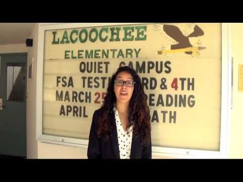 Kindness Corner at Lacoochee Elementary School