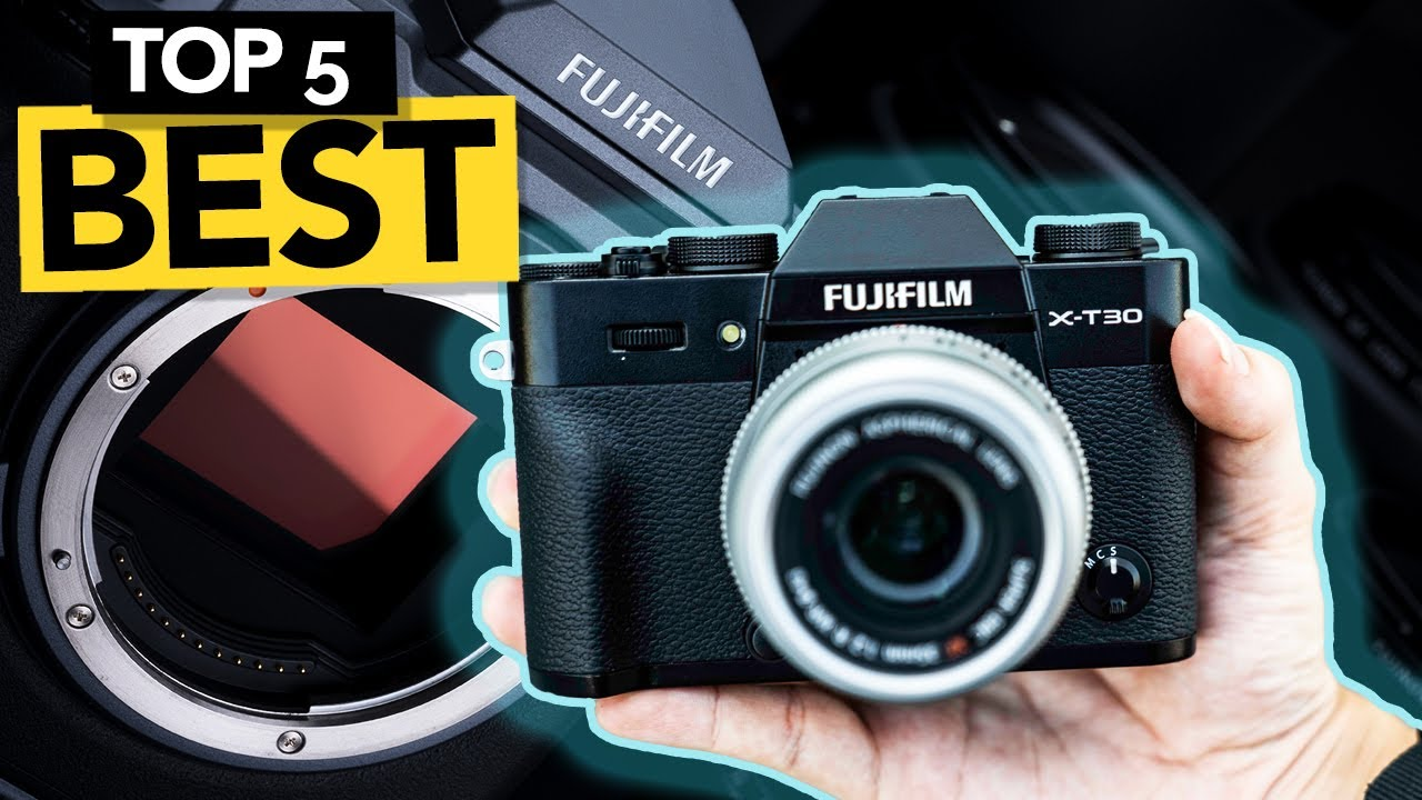 ✅ TOP 5 Best Fujifilm Camera 2021  [ Buyer's Guide ]