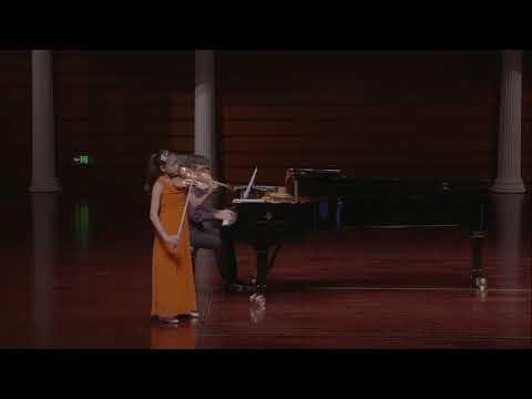 Clara Shen | Schubert | Violin Sonata in A Major | 1st Mvt | 2017 Zhuhai International Violin Comp