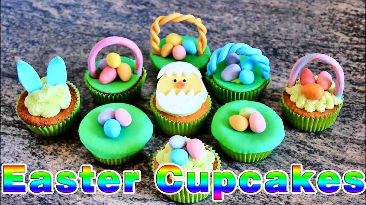 Super simple easter cupcake ideas happyfoods youtube negle Images
