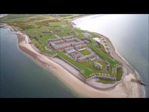 Fort George Infantry Barracks, Inverness, Scotland  -  Skydronauts.uk