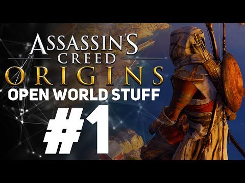 Assassin's Creed Origins [LIVE/PC] - New Game + Open World Stuff #1