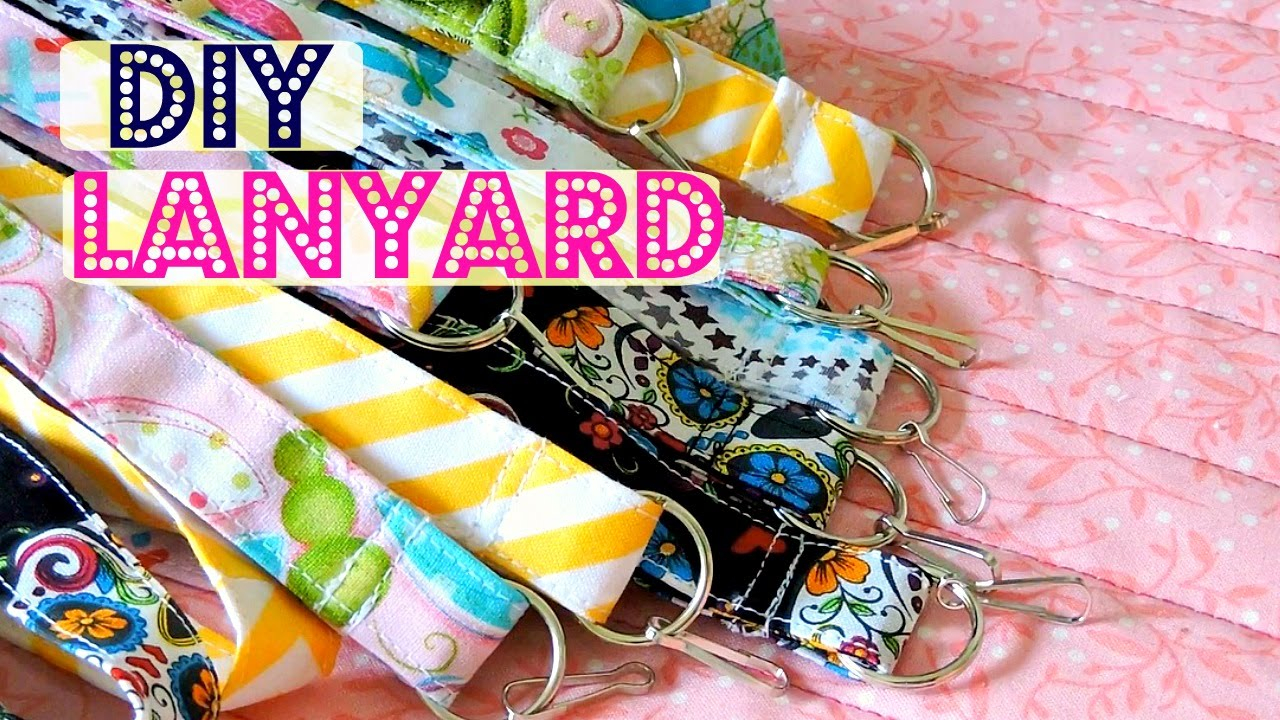 DIY Lanyard | Fat Quarter Project - YouTube