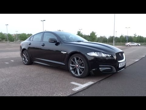 2015 Jaguar XF 2.2D 200 R-Sport Start-Up And Full Vehicle Tour