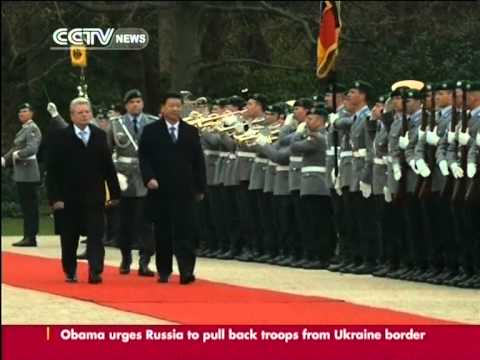 "President Xi Jinping: China-Germany relations ""never been stronger"""