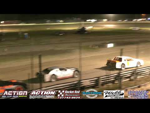 Street Stock Feature, North Florida Speedway, 4/20/19