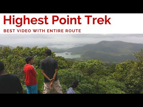Vlog | Trek to Jambhulmal | Highest Point | SGNP | Mumbai | 2016