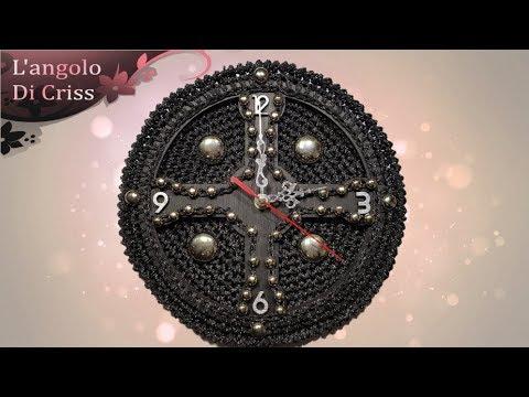 orologio all 39 uncinetto gotika uncinetto facile passo a