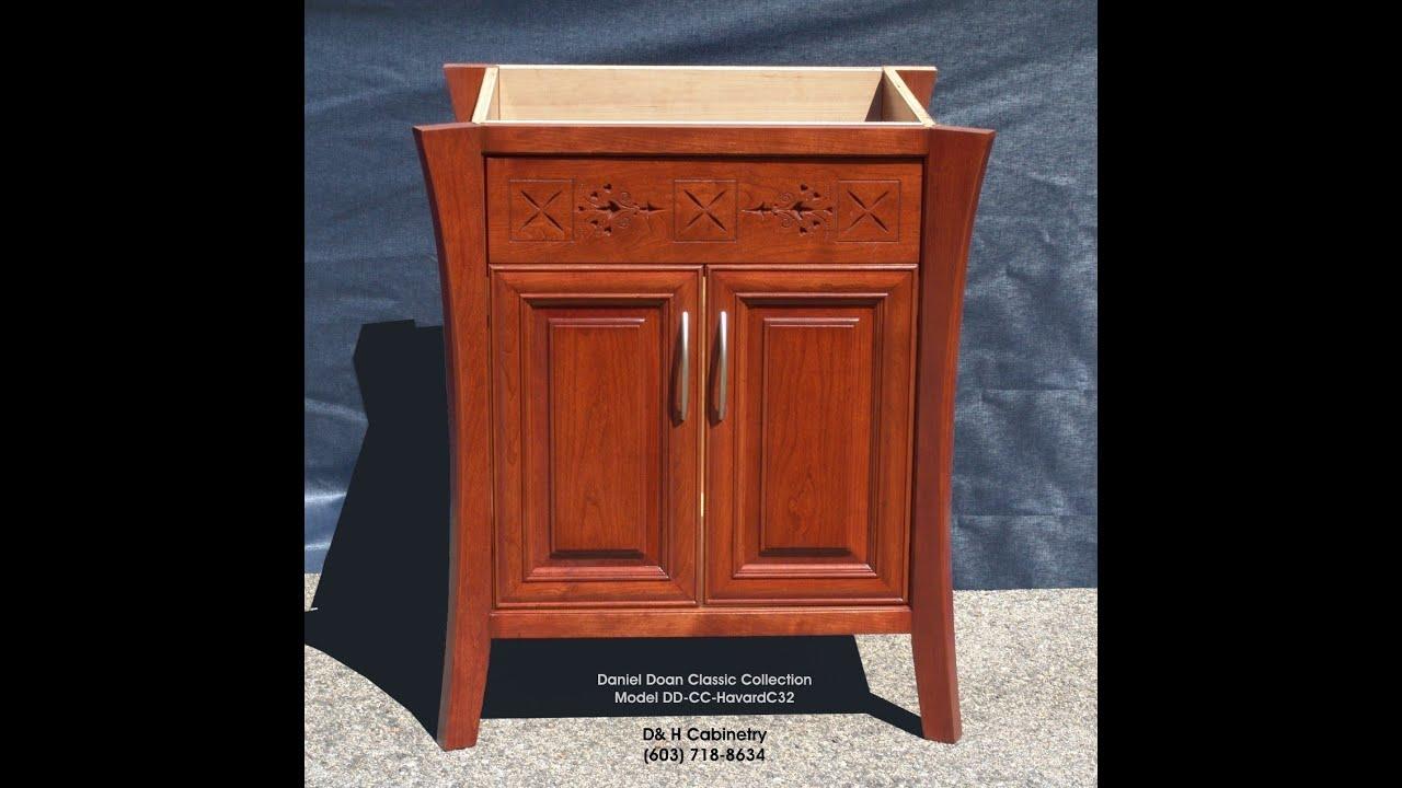 Havard C32 Classic Collection Solid Cherry Bathroom Vanity Boston Ma Hartford Ct Burlington