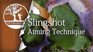 Hunting: Slingshot Aiming Techniques (Aimed)