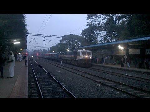 Mangalore - Chennai Mail  announcement & arrival at Parappanangadi in Malappuram