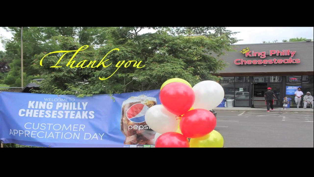 King Philly Customer Appreciation Day