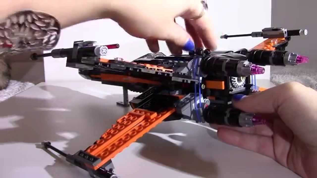 Lego star wars poe s x wing fighter review 75102 youtube - Lego Star Wars Poe S X Wing Fighter 75102 The Force Awakens Episode 7 Unboxing Review Youtube