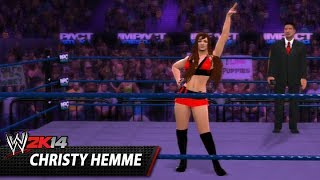 WWE 2K14 Community Showcase: Christy Hemme (PlayStation 3)