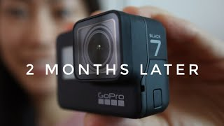 GoPro Hero 7 Black - 2 Months Later Review (ft. GoPole Dome)