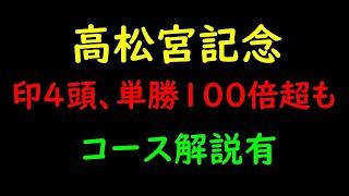 高松宮記念2021最終予想|本命から単勝100倍の大穴馬まで4頭紹介!