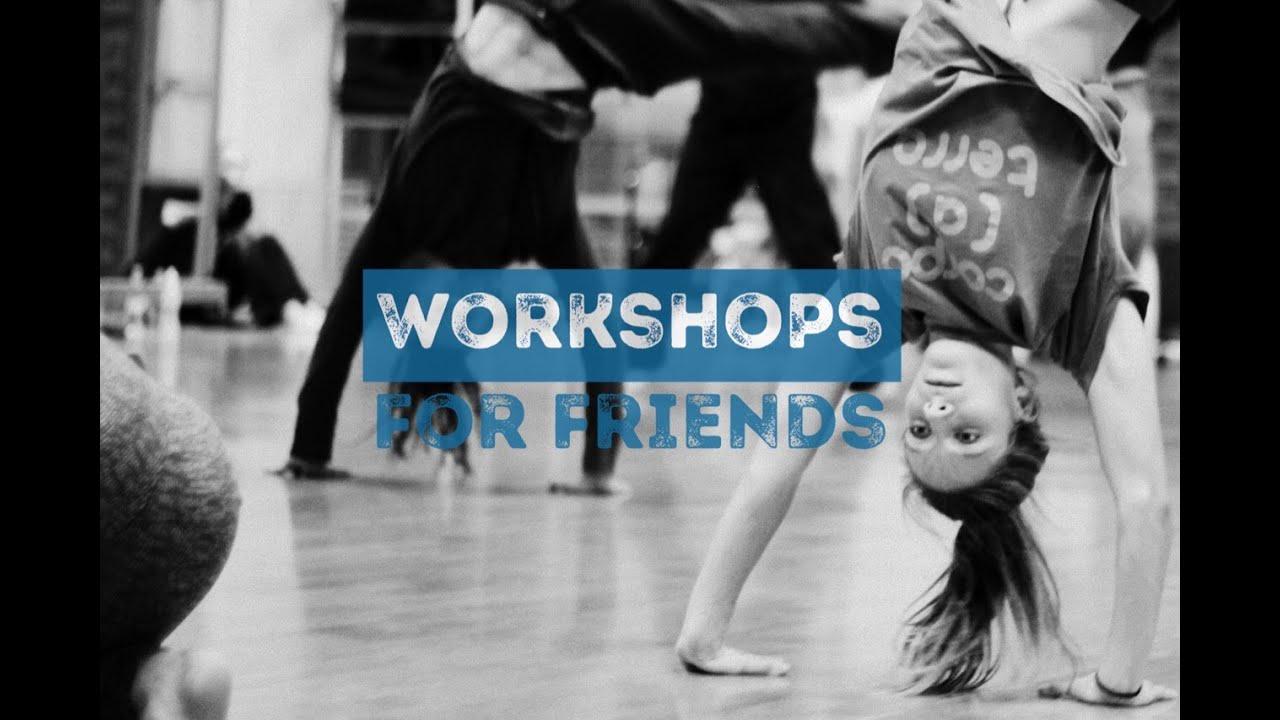 Tina Halford, VAYA | WORKSHOPS FOR FRIENDS | October 2016