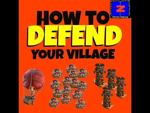 Clash of Clans | How to DEFEND your Village!