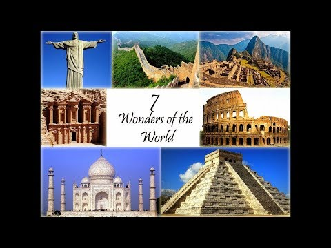 7 Wonders Of The World And Their Information