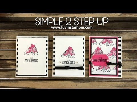 Simple 2 Step Up: feat. Epic Celebration Stamp Set