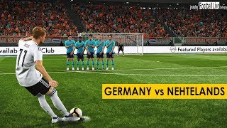 PES 2019 | GERMANY vs NETHERLANDS | Full Match & Amazing Goals | Gameplay PC