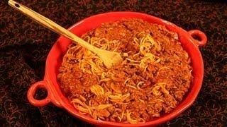 Vickies Crockpot Spaghetti