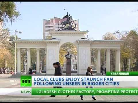 Krasnodar emerges as top sporting region ahead of Sochi Games