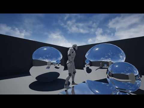 Unreal Engine 4 DXR Raytracing Reflections