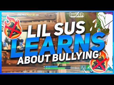 TSM Hamlinz - KID TEACHES LIL SUS ABOUT BULLIES! (Fortnite BR Full Game)