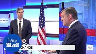 Things get nasty in heated debate between O'Rourke and Cruz